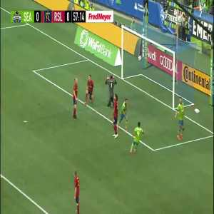 Seattle Sounders [1]-0 Real Salt Lake - Cristian Roldan 57'