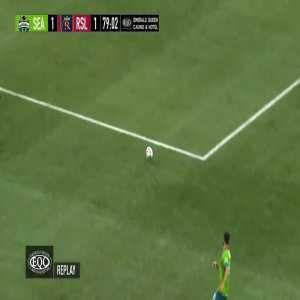 Seattle Sounders 1-[1] Real Salt Lake - Albert Rusnak 78' (penalty)
