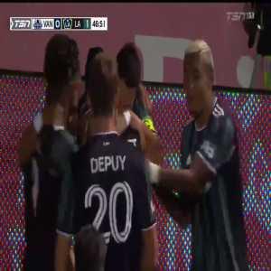 Vancouver Whitecaps 0-[1] LA Galaxy - Javier Hernandez 46'
