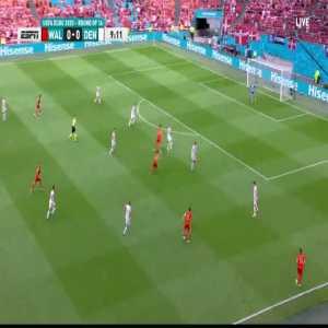 Bale chance 10'