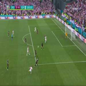 Croatia 3-[4] Spain - Álvaro Morata 100'
