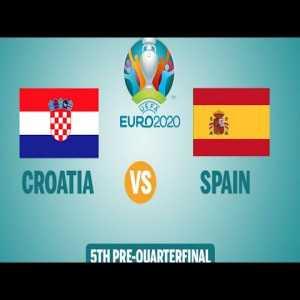 Croatia vs spain 3- 5 highlights