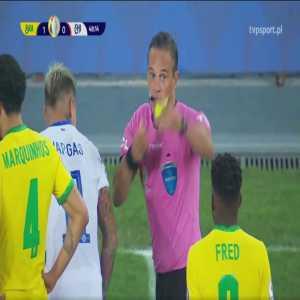 Gabriel Jesus (Brazil) red card vs. Chile (49')