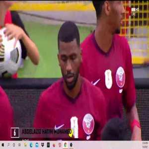 Abdulaziz Hatem (Qatar) red card vs. El Salvador (20')
