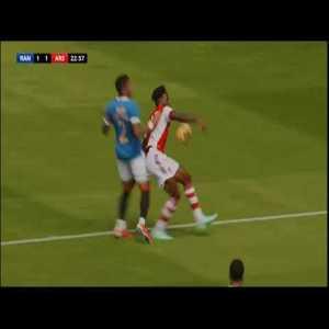 Nuno Tavares vs Rangers