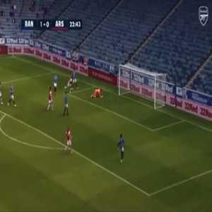 Rangers 1-[1] Arsenal - Nuno Tavares 23'