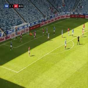 Rangers 2 -2 Arsenal - Edward Nketiah 81'