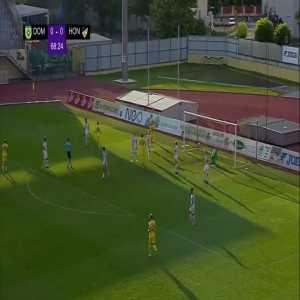 Domžale 1-0 Honka - Arnel Jakupović 69'