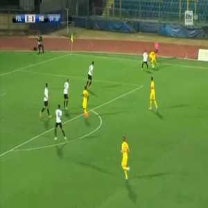 Folgore 1-0 Hibernians - Eric Fedeli 5'