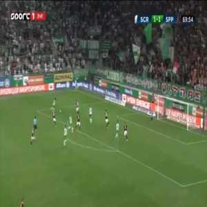Rapid Wien [2]-1 Sparta Praha - Christoph Knasmullner 71'