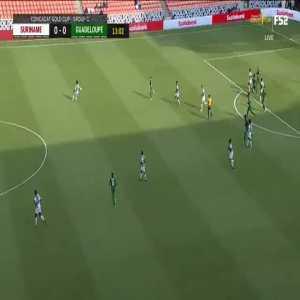 Suriname [1]-0 Guadeloupe: Gleofilo Vlijter 14'