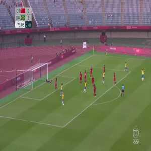 China 0-[3] Brazil – Marta 74' (Women's Olympic Football Tournament)