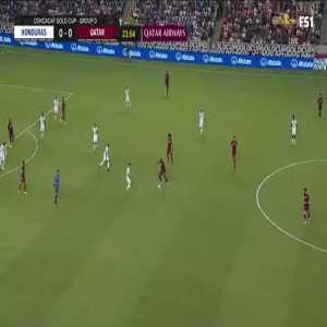 Honduras 0-[1] Qatar: Homam Ahmed 25'