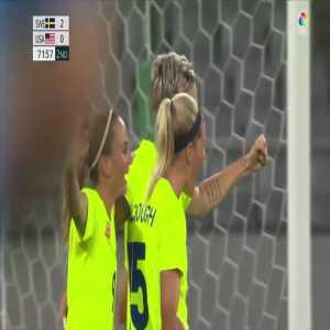 Sweden [3]-0 USA – Lina Hurtig 72' (Women's Olympic Football Tournament)