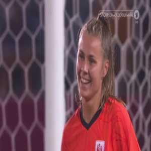 Zambia 1-[10] Netherlands – Victoria Pelova 80' (Women's Olympic Football Tournament)