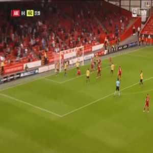 Aberdeen 1-0 Hacken - Andrew Considine 28'