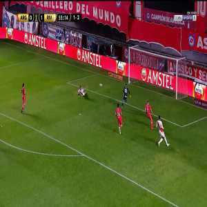 Argentinos Juniors 0-2 River Plate (1-3 on agg): Braian Romero goal 54' [2021 Copa Libertadores round of 16]