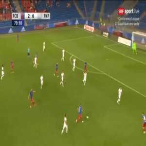 FC Basel 3-0 Partizani - Valentin Stocker 80'