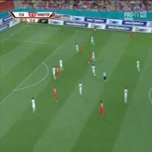 FCSB 1-0 Shakhtar Karagandy - Andrei Ioan Cordea 38'