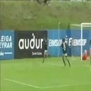 Hafnarfjordur 0-1 Rosenborg - Carlo Holse 61'