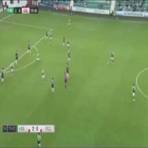 Hibernian 3-0 FC Santa Coloma - Kevin Nisbet 81'