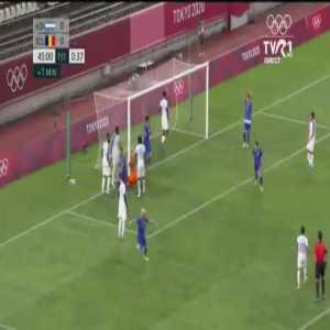 Honduras 0 - [1] Romania - Elvin Oliva OG 45' [Tokyo Olympics]