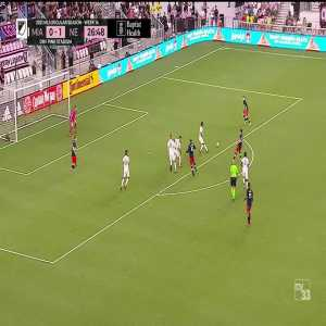 Inter Miami 0-2 New England Revolution: Bunbury 27'