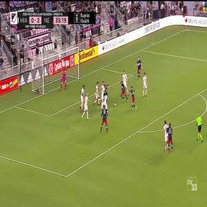 Inter Miami 0-3 New England Revolution: Traustason 36'
