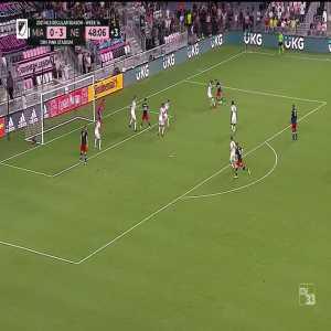 Inter Miami 0-4 New England Revolution: Buksa 45+4'