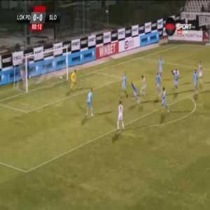 Lokomotiv Plovdiv 1-0 Slovacko - Petar Vitanov 89'