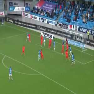 Molde 2-0 Servette - Ohi Omoijuanfo 32'