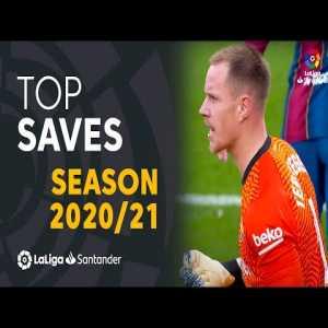 TOP 10 SAVES LaLiga Santander 2020/2021