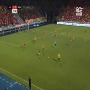 Velez Mostar 0-1 AEK - Karim Ansarifard 12'