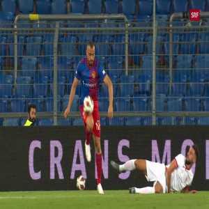 FC Basel [2]-0 FK Partizani - Arthur Cabral [Great Goal!]