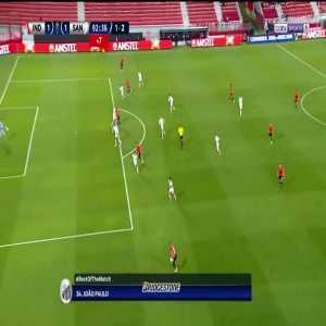João Paulo (Santos) great save vs. Independiente 90'+3'