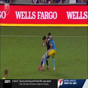 José Martinez Fallon d'Floor nomination vs Orlando City 45+1'
