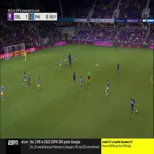 Orlando City 2-0 Philadelphia Union: Perea 59'