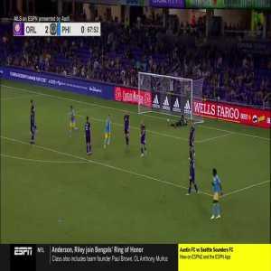 Orlando City SC 2 - [1] Philadelphia Union : Kacper 67'