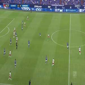 Schalke 1-0 Hamburg SV: Terodde 7'