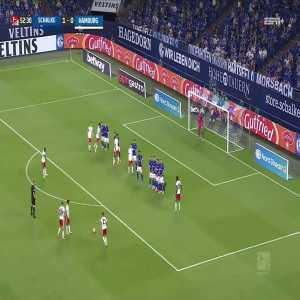 Schalke 1-1 Hamburg SV: Glatzel 53'