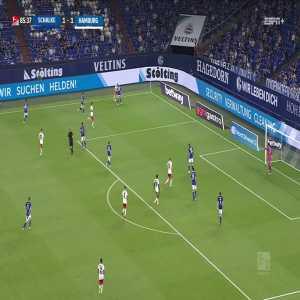 Schalke 1-2 Hamburg SV: Heyer 86'
