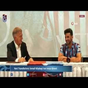 """Ahmet Ağaoğlu, the chairman of Trabzonspor, telling the new signing of the club during the ceremony that he would not have been signed without recently-implemented rules: """"You are now reaping benefits of foreigner limit"""""""