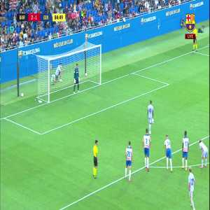 Barça [3] - 1 Girona - Memphis Depay penalty 85' [Pre - Season Friendly]