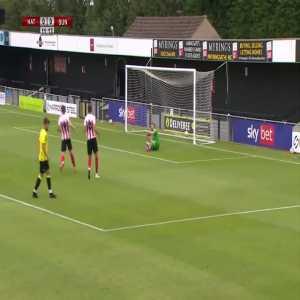 Harrogate Town 0 - [1] Sunderland: Elliot Embleton 12'