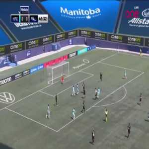 HFX Wanderers [1] - 0 Valour FC - Pierre Lamothe 44'