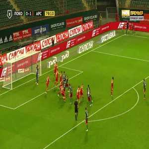 Lokomotiv Moscow [1]-1 Arsenal Tula - Rifat Zhemaletdinov 80'