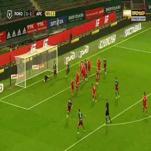Lokomotiv Moscow [2]-1 Arsenal Tula - Rifat Zhemaletdinov 89'