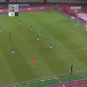 Netherlands W 1-0 Brazil W - Vivianne Miedema 3'