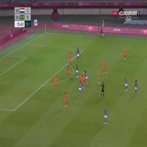 Netherlands W 1-[1] Brazil W - Debinha 17'