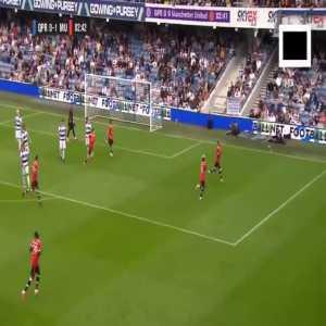 QPR 0-[1] Manchester United - Lingard